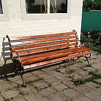 Скамейки кованые садовые  парковые  2 м