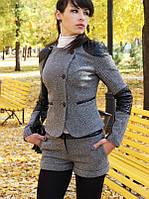 Женские шорты из твида