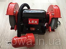 Точильный станок Lex LXBG14 с подсветкой / 1400Вт, фото 3