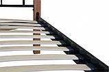 Двуспальная металлическая кровать Lucca 1400x2000 мм beige, код E1915, фото 6