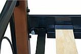 Двуспальная металлическая кровать Lucca 1400x2000 мм beige, код E1915, фото 5