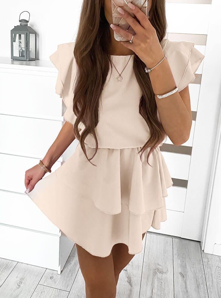 Женское платье Бежевый