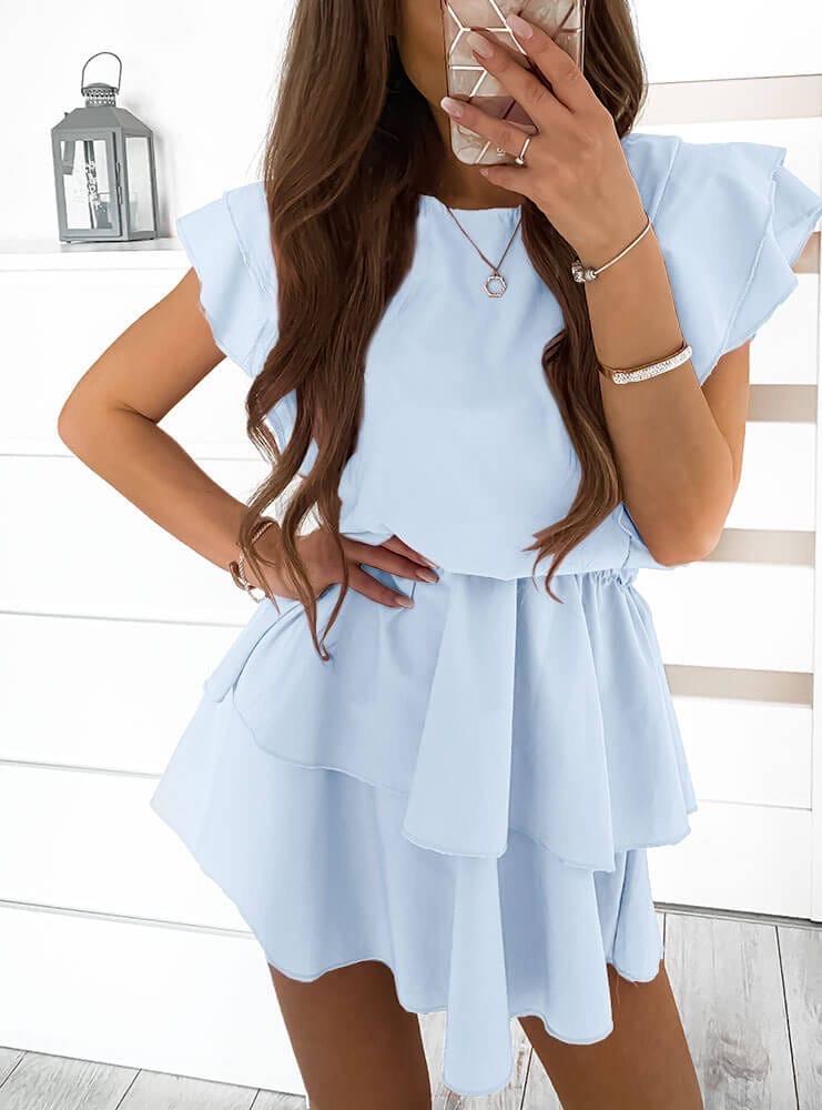Женское платье Голубой