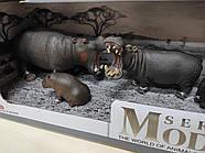 Набор животные африки Series Model большая Q 9899-D8 бегемоты, горилы, фото 3