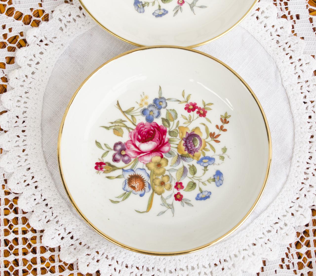 Фарфоровая тарелочка, блюдце для кодлера, розетка для варенья от Royal Worcester, Англия