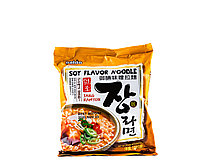 Локшина Рамен швидкого приготування з соєвим смаком Jang Ramyun Soy Paldo 120 г