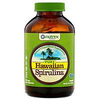 Nutrex Hawaii, Pure Hawaiian Spirulina, порошок спирулины, 454г (16унций), официальный сайт, NHI-01026