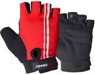 Перчатки для велоспорта и фитнеса красные (Польша)  размер S, М