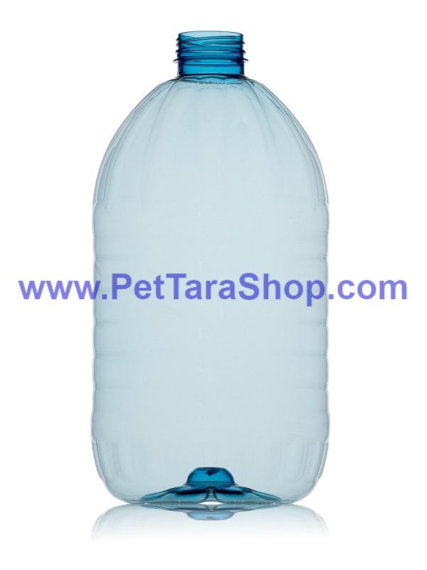 ПЕТ Пляшка Блакитна 5 Літрів з кришкою і ручкою