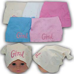 ОПТ Косынки на резинке для девочек, р. 44-46 до (5 шт/упаковка)