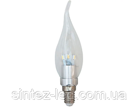 Светодиодная лампа Feron LB-71 3.5W chrome E14 2700K 230V Код.56062