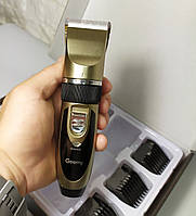 Машинка для стрижки волос Gemei  с 2 аккумуляторами