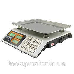 Весы торговые Grunhelm GSC-053 : 50 кг   сеть или аккумулятор