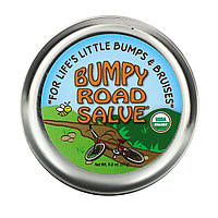 Sierra Bees, Bumpy Road Salve, мазь от ушибов, 17 г (0,6 унции)