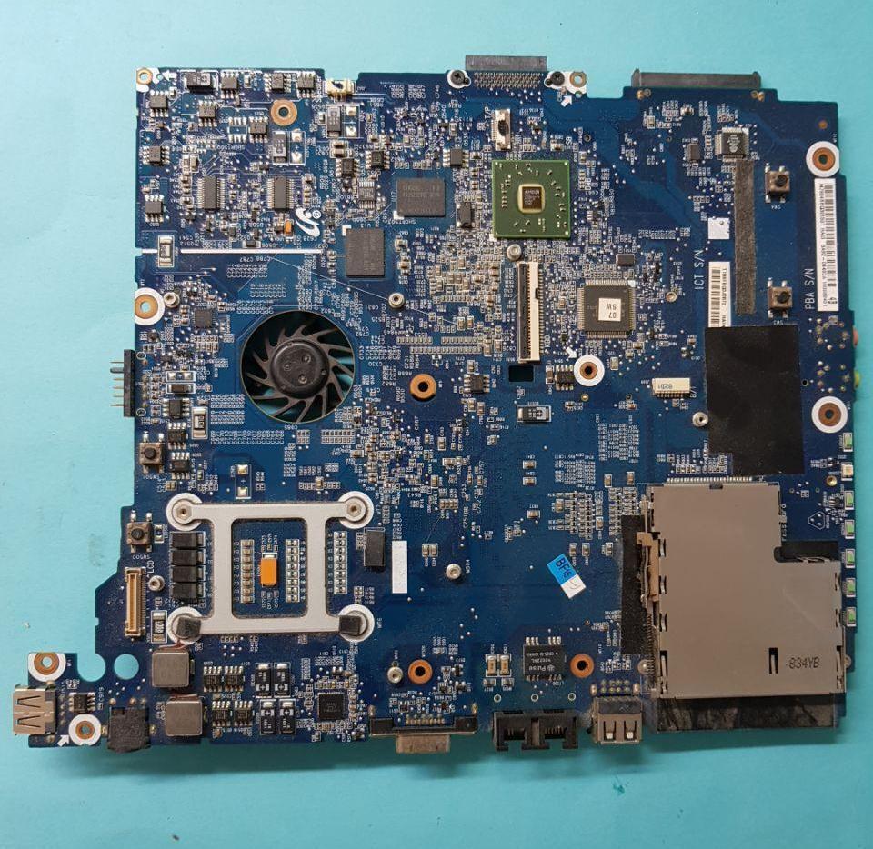 Материнская плата (Маркировка BA41-00809A)  Разборка ноутбука Samsung R25 Plus