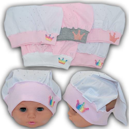 ОПТ Косынки на резинке для девочек, р. 46-48 до (5 шт/упаковка)