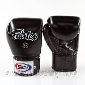 Боксерские перчатки Fairtex BGV1 Black 10 унций