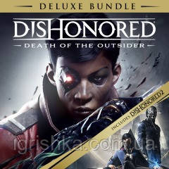 Dishonored: Death Of The Outsider Deluxe Bundle Ps4 (Цифровий аккаунт для PlayStation 4) П3