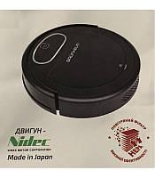 Робот-пилосос GRUNHELM  GRVC-T1000, 2600 мА*ч, вологе прибирання, керування з моб. Додатку