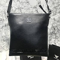 Messenger Givenchy Embossed Canvas Black