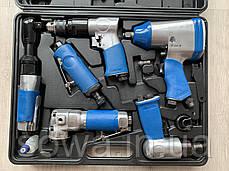 Набор пневмоинструмента Mar-Pol в кейсе, фото 2
