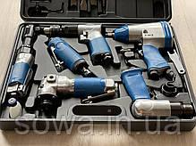 Набор пневмоинструмента Mar-Pol в кейсе, фото 3
