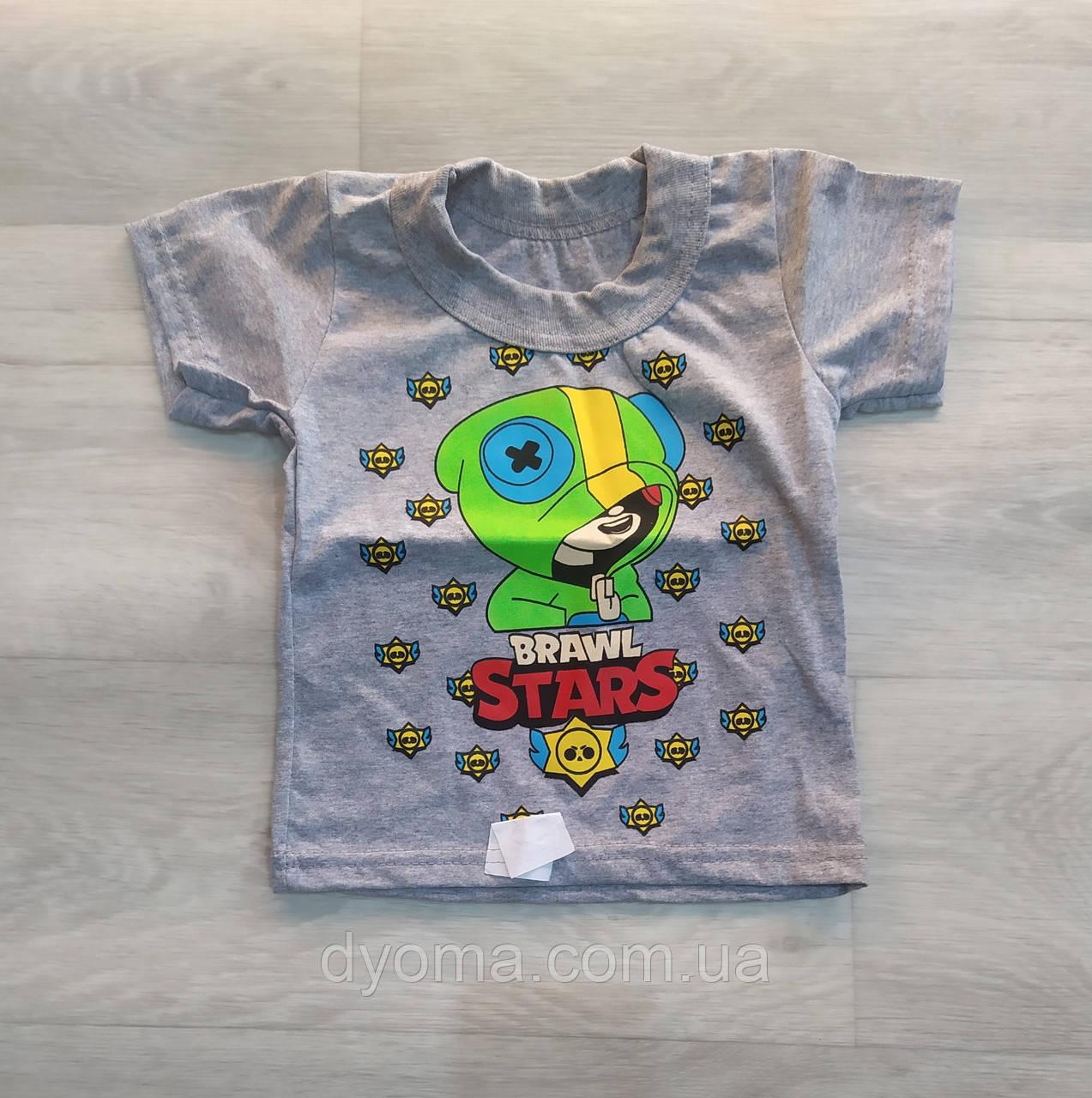 "Детская футболка "" Brawl - stars "" для мальчиков"