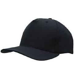 Бейсболка кепка рабочая (100% хлопок, темно-серый)