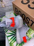 Женские кроссовки в стиле Adidas Yeezy Boost 350 v2 tail light, Адидас изи буст 350 (Реплика ААА), фото 6