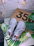 Женские кроссовки в стиле Adidas Yeezy Boost 350 v2 tail light, Адидас изи буст 350 (Реплика ААА), фото 9