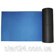 Коврик туристический (каремат) SportVida XPE 1 см SV-EZ0008 Black/Blue, фото 3