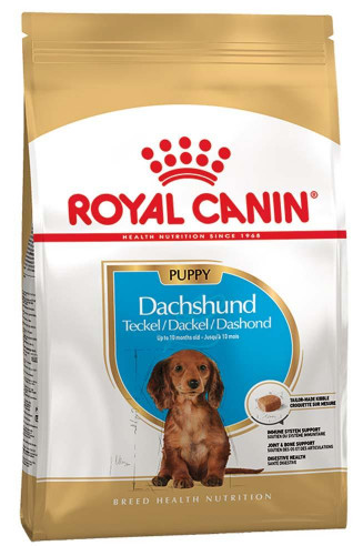 Сухой корм Royal Canin (Роял Канин) DACHSHUND PUPPY для щенков породы такса, 1,5 кг