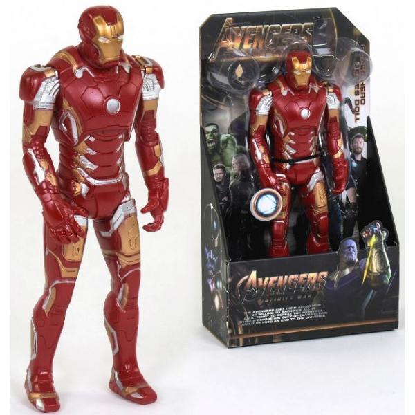 Фигурка супер героя Железный человек | Iron Man (32см) (Марвел / Avengers)  с подвижными конечностями