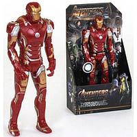 Фигурка супер героя Железный человек | Iron Man (32см) (Марвел / Avengers)  с подвижными конечностями scn