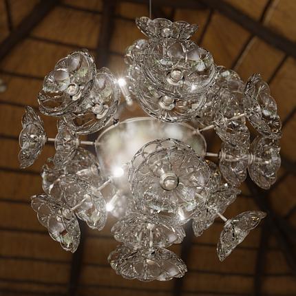 Светильник хрустальный на кухню, фото 2