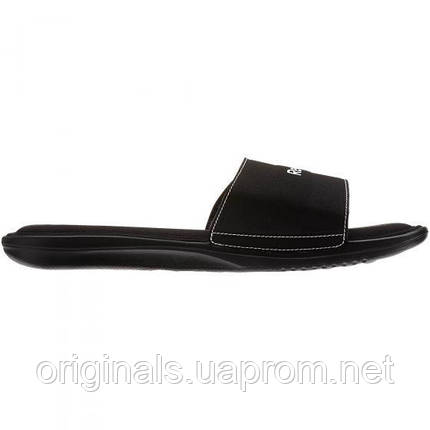 Cланцы Рибок мужские Comfort Slide M47084 черные на липучке, фото 2
