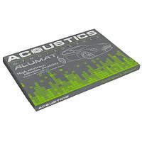 Виброизоляция Acoustics Alumat Фольга 370*500*4,0 100 мк упаковка 10 листов