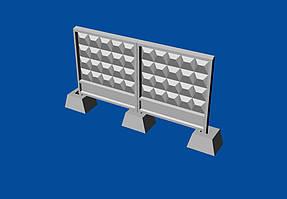 Набор советских бетонных заграждений тип ПО-3. 1/72 METALLIC DETAILS MDR7205
