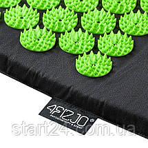Коврик акупунктурный 4FIZJO Аппликатор Кузнецова 72 x 42 см 4FJ0040 Black/Green, фото 3
