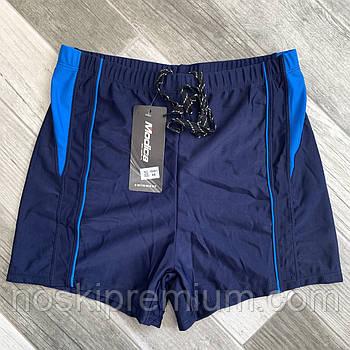Плавки шорты купальные мужские Modica, 48-56 размер, сине-голубые, 15001