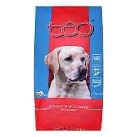 Преимущества сухого корма тео для собак