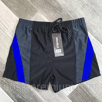 Плавки шорты купальные мужские Modica, 48-56 размер, чёрные, 15002