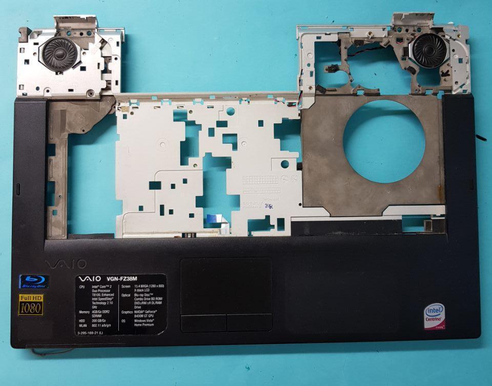 Верх корпуса с тачпадом Разборка ноутбука Sony Vaio PCG-3A1M / VGN-FZ38M