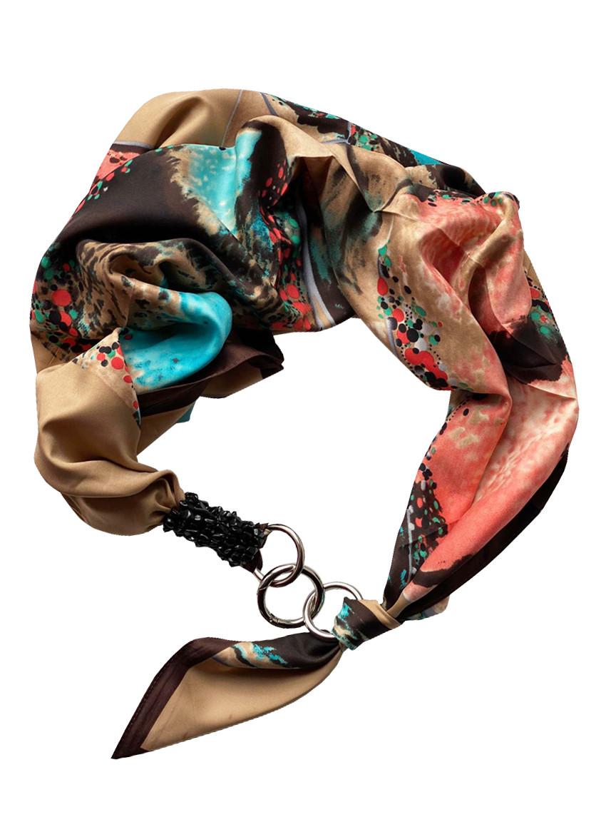 """Атласний хустку """"Гірська німфа"""", шарф-кольє, шарф-чокер, шийну хустку My Scarf"""