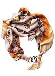 """Атласний хустку """"Пісочна перлина"""", шарф-кольє, шарф-чокер, шийну хустку My Scarf"""