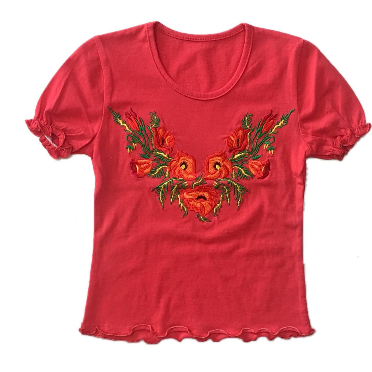 Дитяча футболка для дівчинки, 104см