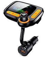 Автомобильный Bluetooth FM-модулятор Onever C86 + Быстрая зарядка