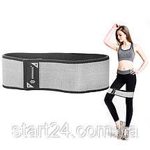 Резинка для фитнеса и спорта тканевая Springos Hip Band Size M FA0114, фото 2