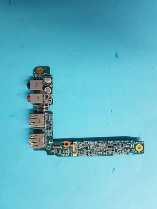 Плата с правой стороны с 2 USB и 2 выхода под наушники Разборка ноутбука Sony Vaio PCG-3A1M / VGN-FZ38M, фото 2