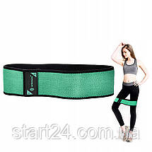 Резинка для фитнеса и спорта тканевая Springos Hip Band Size L FA0111, фото 2